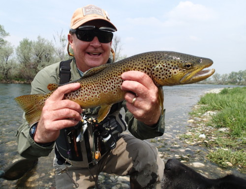 Tim Huckaby: Stillwater River, Montana – May 3-7, 2016